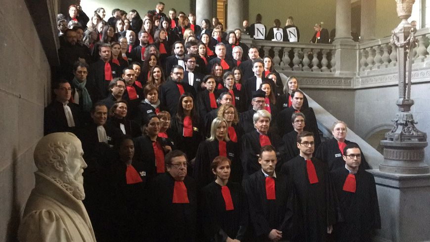 Les avocats en action à la Cour d'appel de Riom