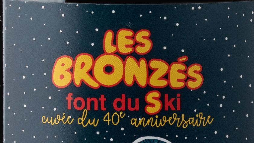 """La cuvée anniversaire des 40 ans des """"Bronzés font du ski"""" a été élaborée par Maison Sinnae en collaboration avec Yves Rousset-Rouard"""