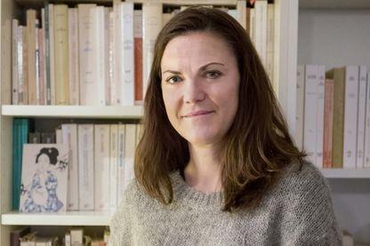 La philosophe Claire Marin, Paris, 2019