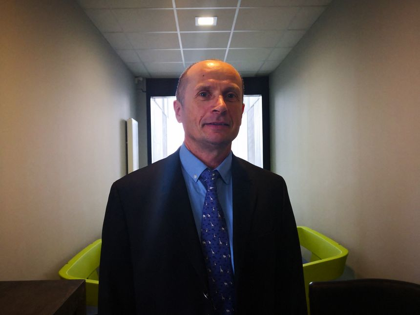 Nicolas Brouzeng, le directeur de la centrale nucléaire de Golfech dans le Tarn-et-Garonne