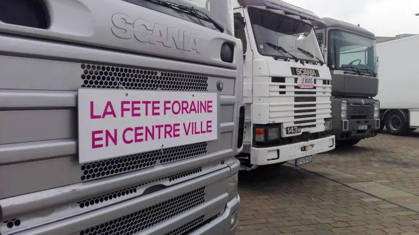 Les représentants des forains s'opposent toujours à une installation de la fête foraine zone du Panorama, au Mans