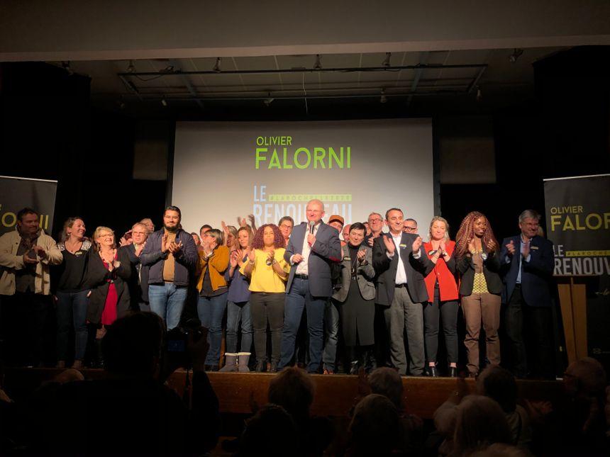 Le député Olivier Falorni, candidat à la mairie de la Rochelle a dévoilé sa liste pour les élections municipales de mars prochain