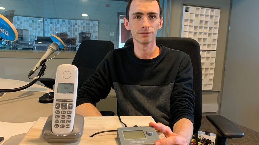"""David Montchovet le créateur de """"Clibase"""" et son invention"""