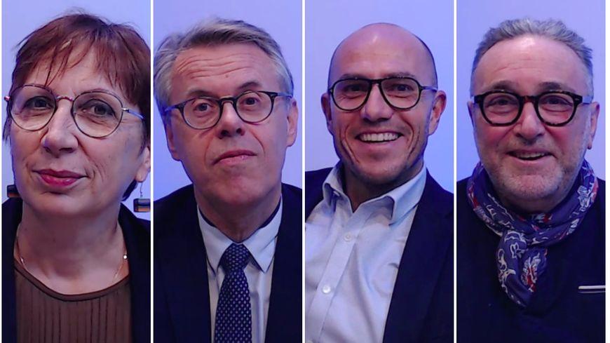 Selon le sondage Sopra Steria pour France Bleu Besançon - L' Est Républicain,  Anne Vignot est créditée de 34 %, Eric Alauzet 23%, Ludovic Fagaut 15 %, Jacques Ricciardetti 10 %.
