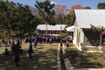 L'école Savanette à Haïti, dix ans après le séisme qui a touché le pays en 2010.