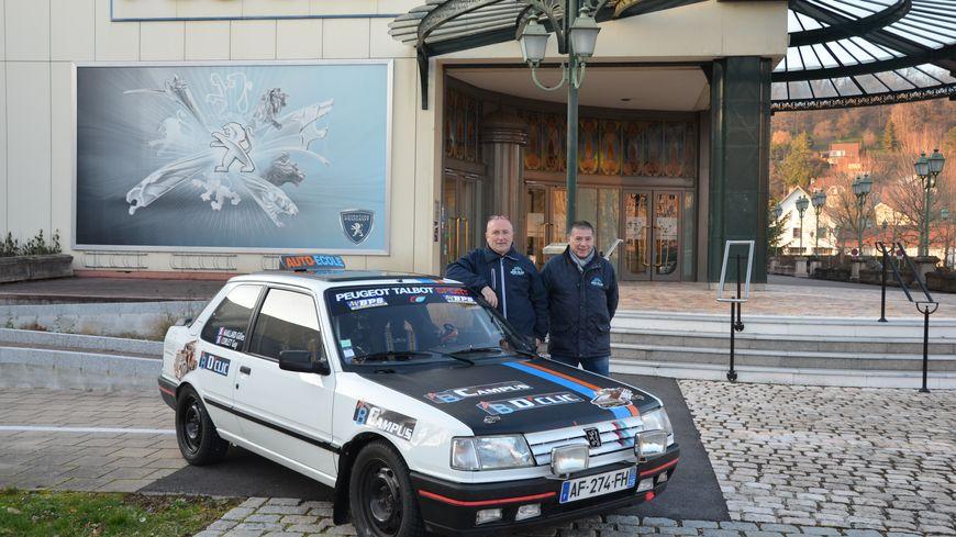 Gilles MAILLARD et Guy CORLET