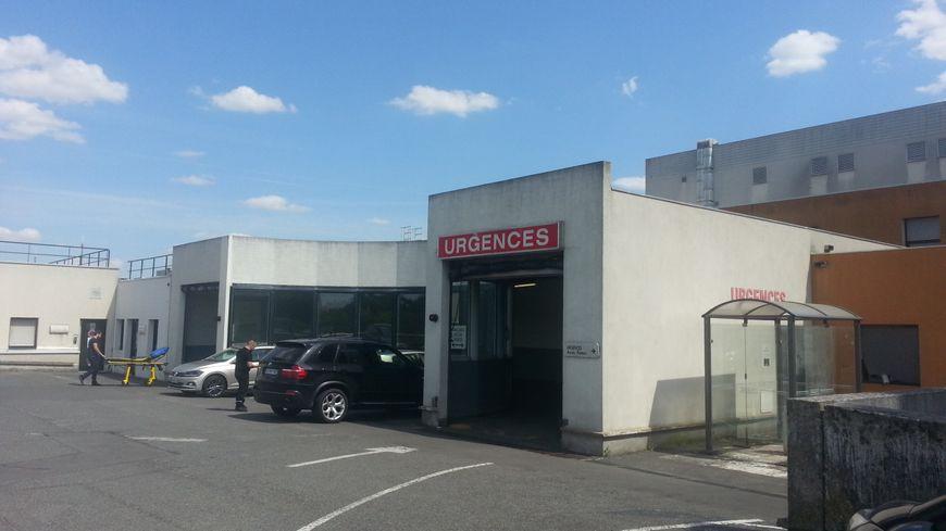 Le bâtiment des urgences du Centre Hospitalier  Jacques Coeur de Bourges