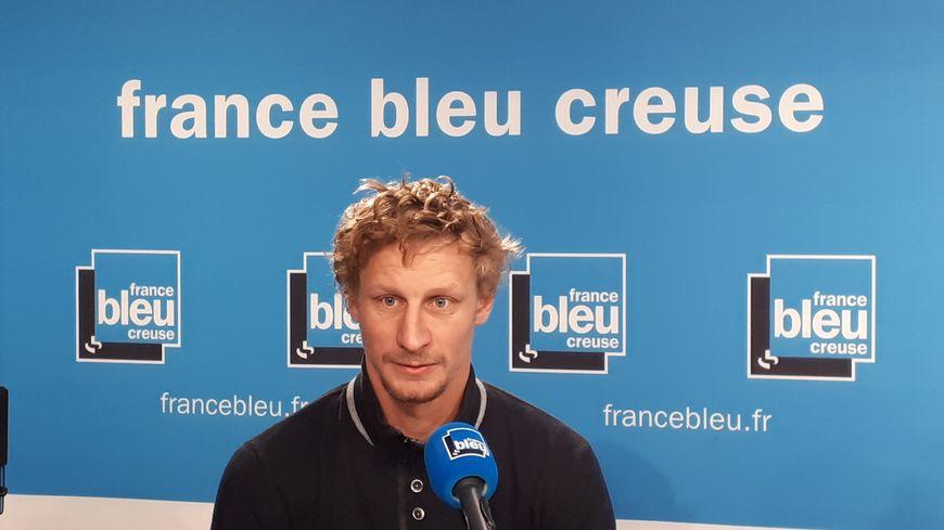 Benoit Daudon, éleveur à Guéret