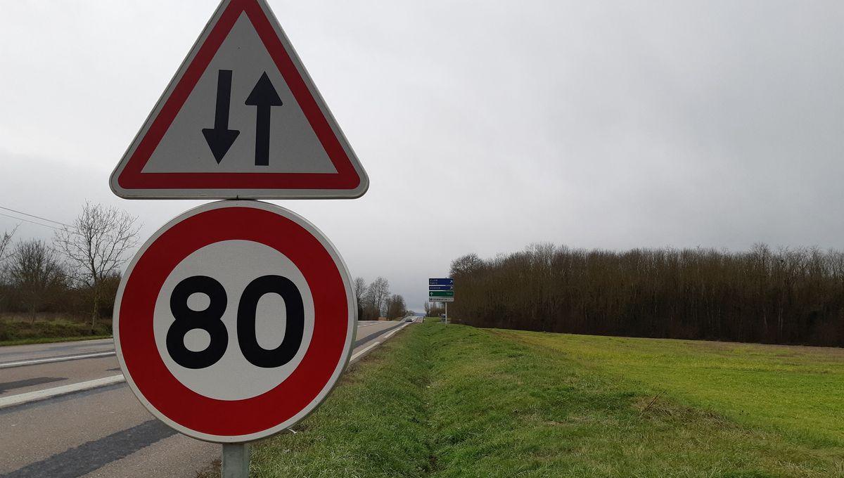 Les routes de l'Isère vont rester à 80 km/h