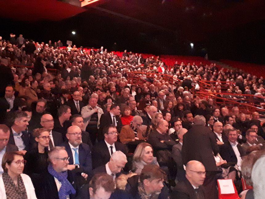 Environ 3000 personnes ont assisté aux vœux de François Rebsamen