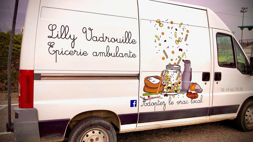 Mad'Moiselle, le camion de Lilly Vadrouille