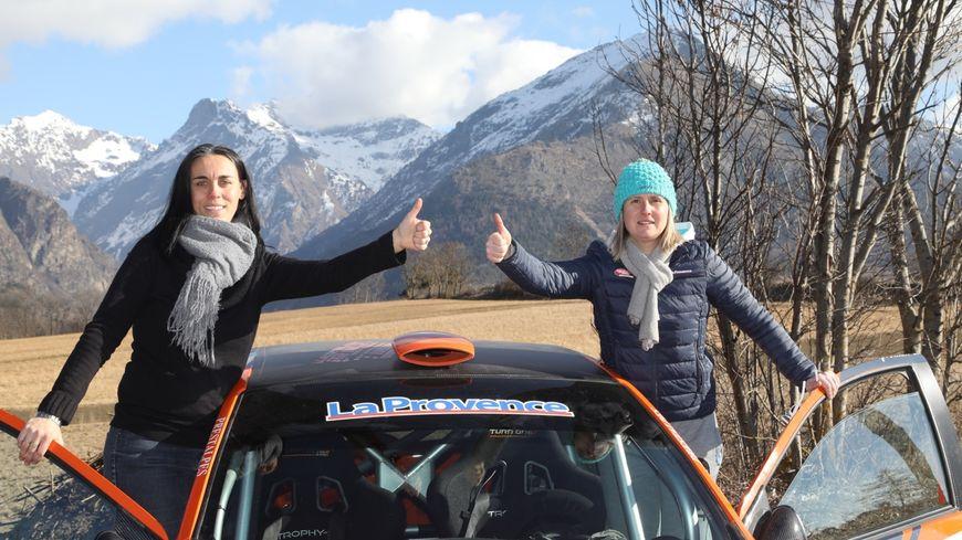 Laure Jaussaud  et Julie Trinquier-Escartefigue courent sous le numéro 81, Team La Provence