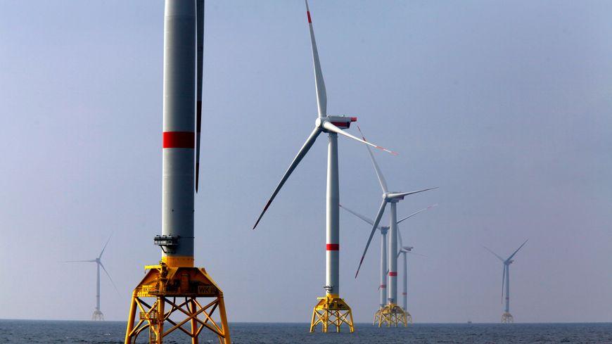 Le parc éolien de la baie de Saint-Brieuc doit entrer en service en 2023