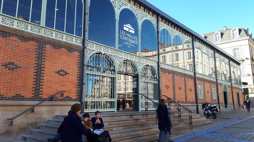 Les halles centrales de Limoges
