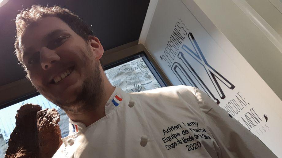 Un glacier briviste représente la France à la coupe du Monde des desserts glacés