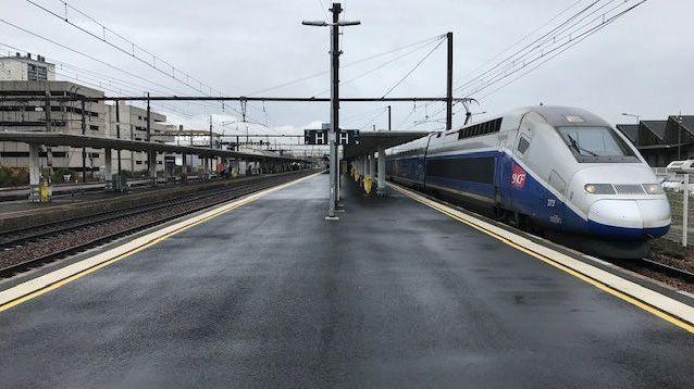 Le TGV a été retenu à quai de longues minutes, pendant que les secouristes cherchaient la passagère prétendument atteinte du coronavirus.