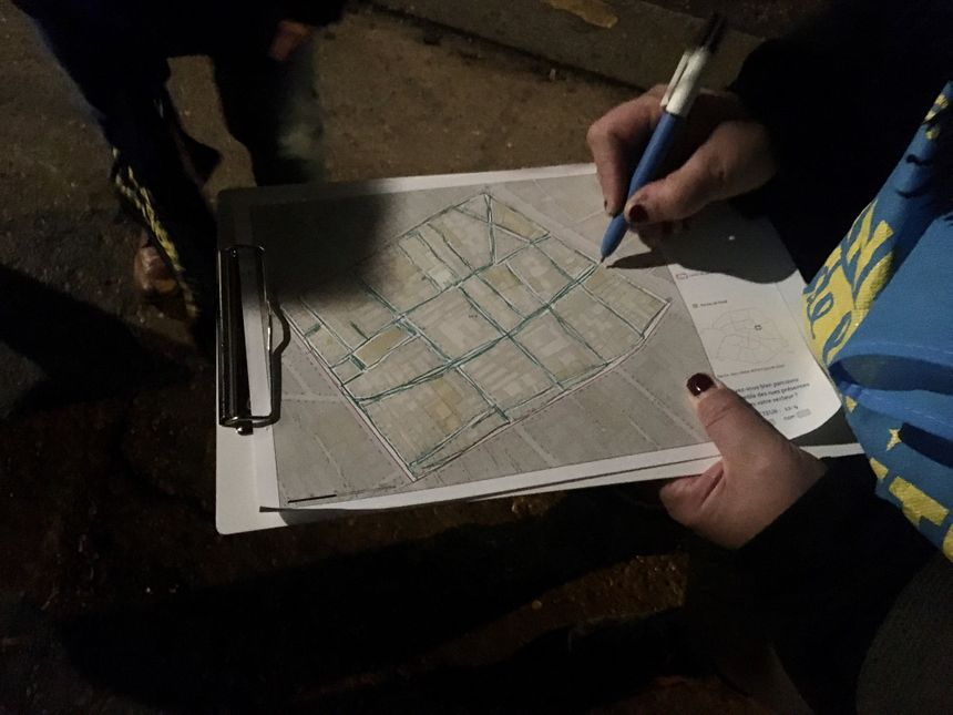 L'équipe arpente une quinzaine de rues dans le quartier de la Fontaine au Roi dans le 11ème arrondissement de Paris.
