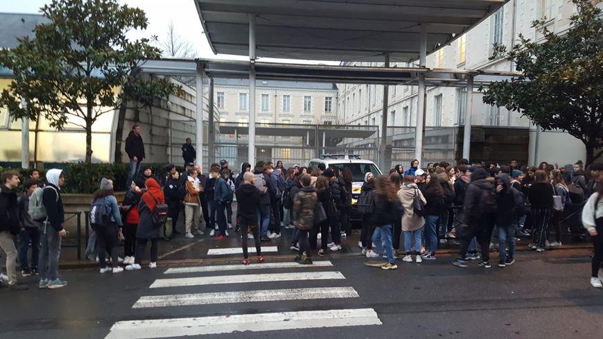 Le lycée Clémenceau à Nantes