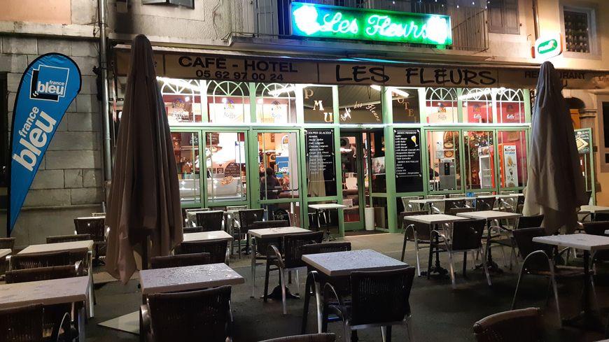 France Bleu au café-hôtel Les Fleurs à Argelès-Gazost
