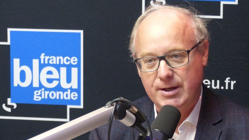 Georges Haushalter, vice président du négoce bordelais