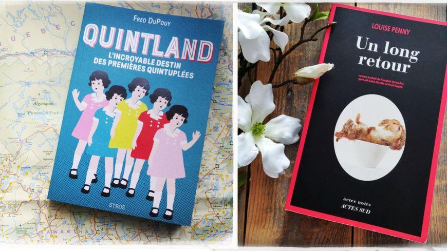 """""""Quintland"""" de Fred DuPouy et """"Un long retour"""" de Louise Penny"""