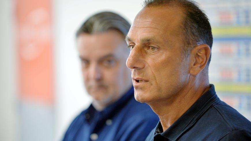 Michel Der Zakarian travaille main dans la main avec son président