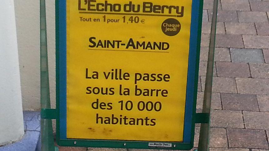 St-Amand-Montrond perd des habitants depuis plusieurs années