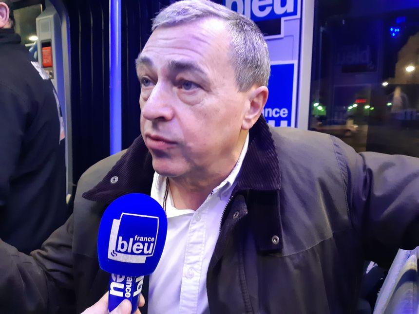 Olivier Carré, maire d'Orléans, et candidat