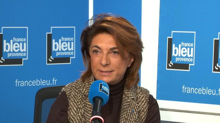 Martine Vassal invitée de France Bleu Provence.