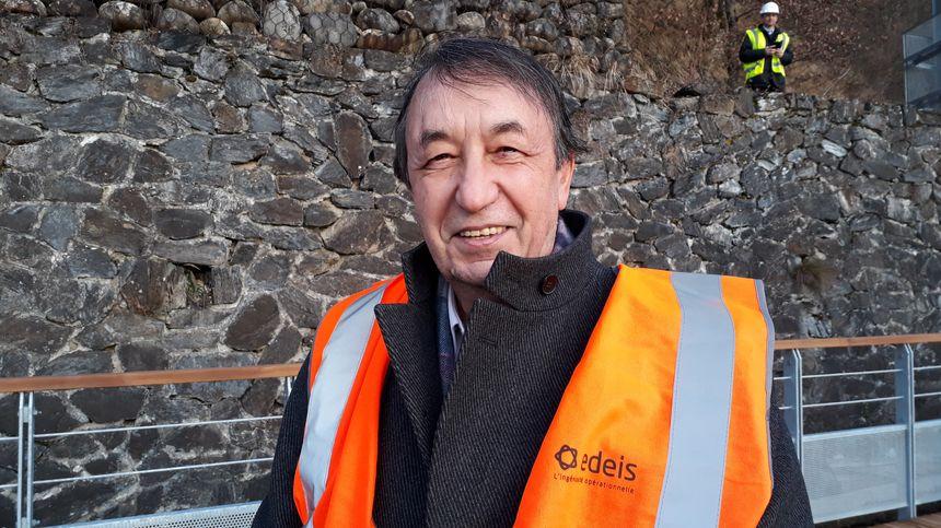 Gérard Mayer, président de la société qui va gérer le Petit Train
