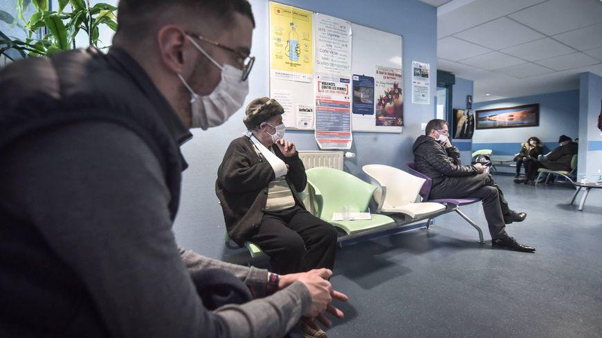 Un service d'urgences à l'hôpital à Pau (photo d'illustration)