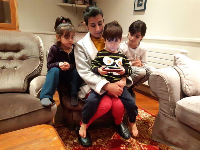 Berivan et ses enfants profitent d'un peu de stabilité à Bréhat