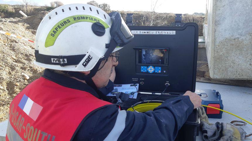 La technologie au service des secouristes.