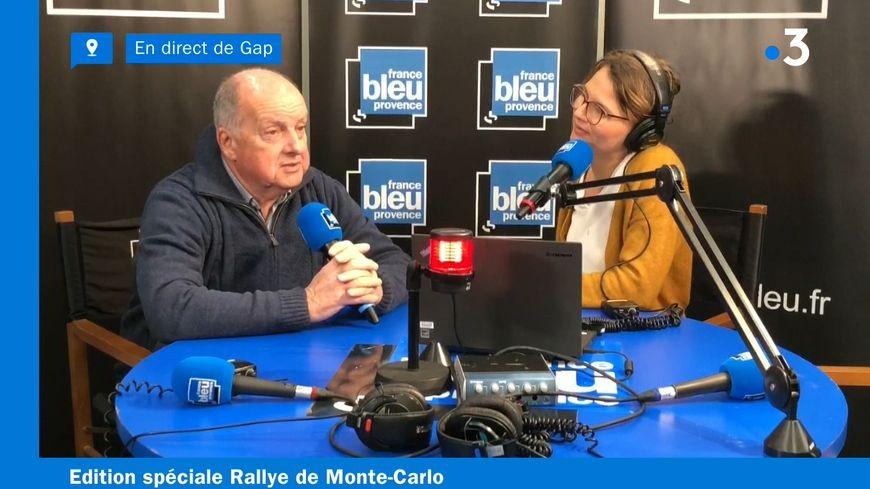 Le maire de Gap, Roger Didier, interviewé par Mathilde Vinceneux pour France Bleu Provence - France 3 Provence-Alpes.