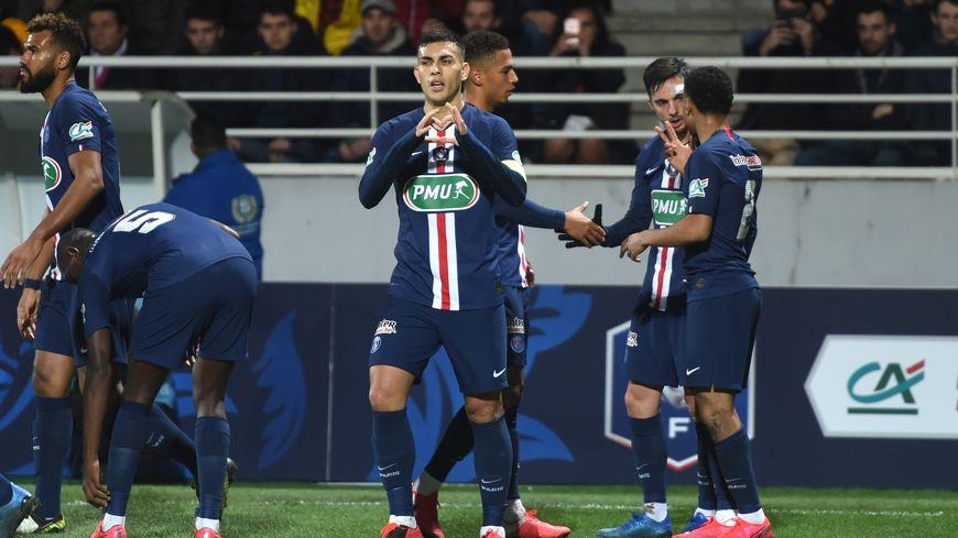 Paredes a marqué son premier but sous le maillot Rouge et Bleu face à Pau