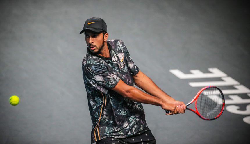 Rayane Roumane au tournoi de Metz, en septembre dernier.