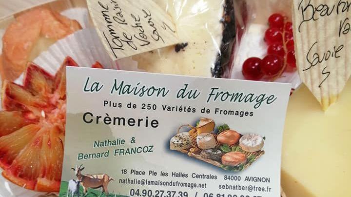 la maison du fromage aux halles d'Avignon