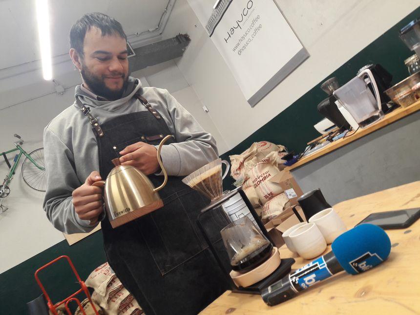Le rituel du café avec Carlos Rodriguez