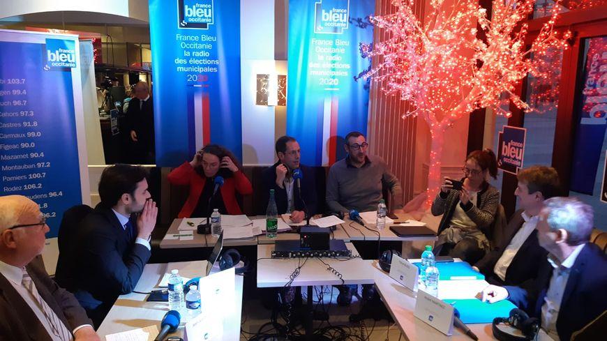 Tout est en place pour le débat sur France Bleu Occitanie