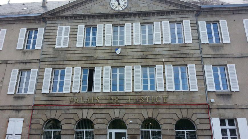 Le palais de justice de Guéret
