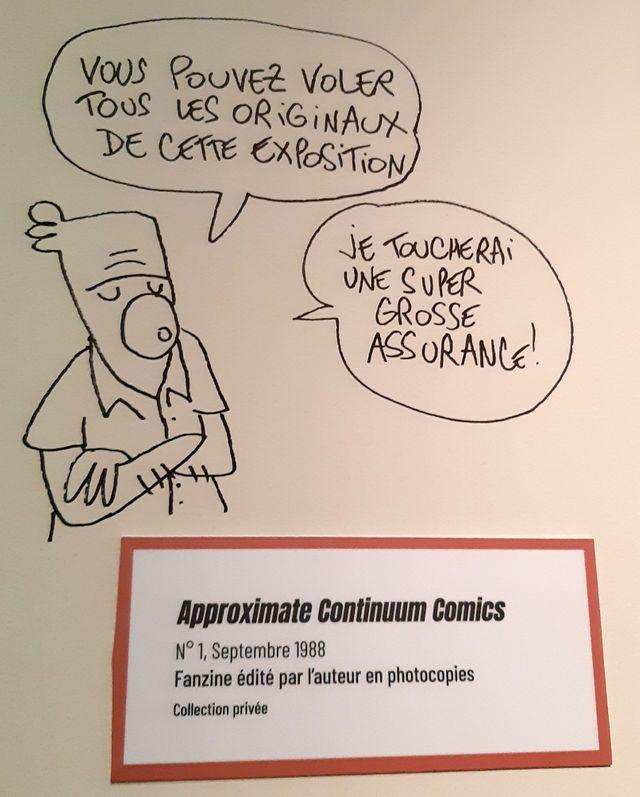 """Dans l'exposition """"Lewis Trondheim fait des histoires"""" à Angoulême"""
