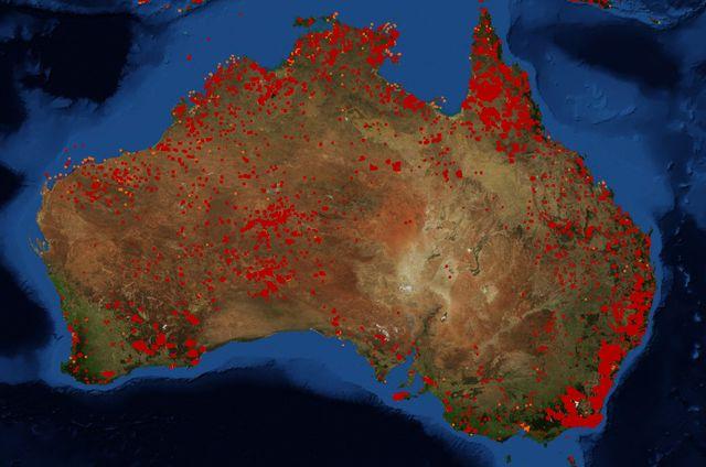 Incendies En Australie Vraies Ou Fausses Images