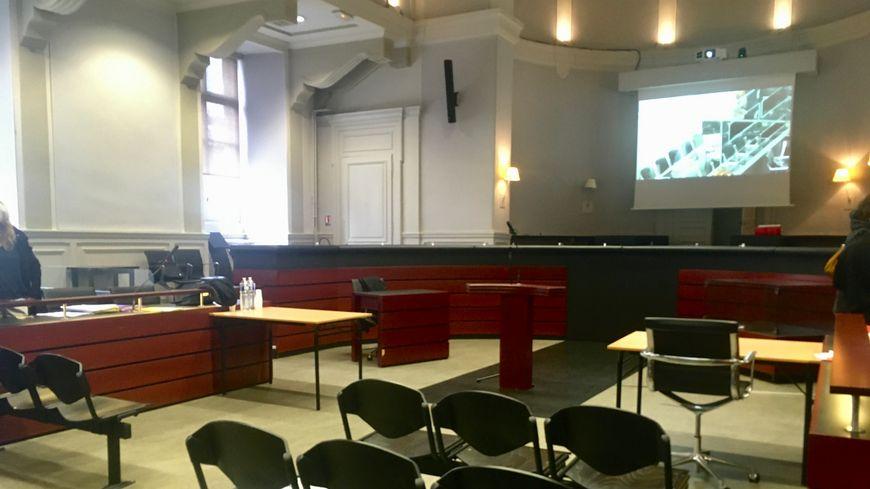 La cour d'assises de la Savoie à Chambéry.