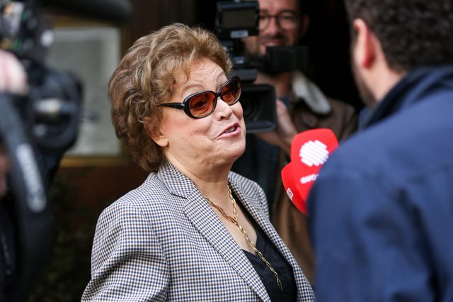 La romancière Françoise Chandernagor compte bien devenir présidente de l'Académie Concourt.