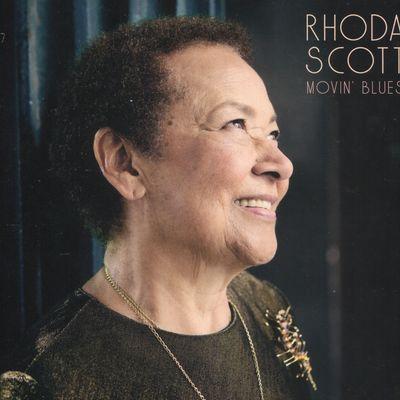 """Pochette de l'album """"Movin' blues"""" par Rhoda Scott"""