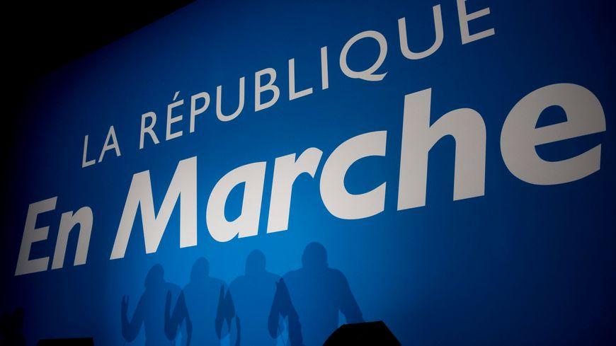 Au siège d'En Marche à Paris.