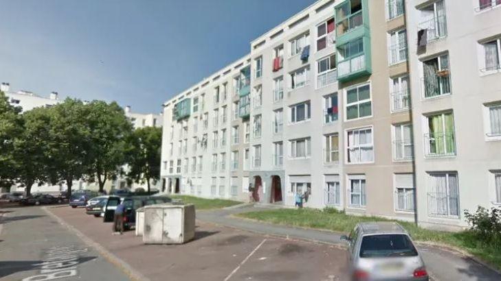 La rue de Bretagne, quartier Etouvie à Amiens.