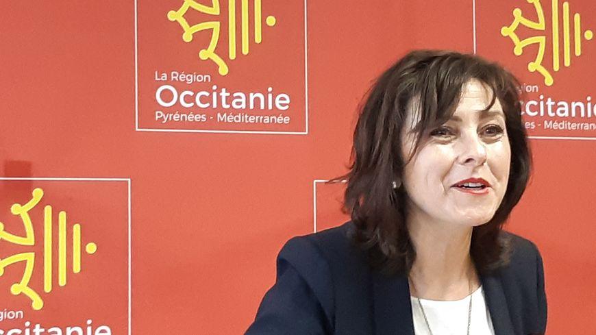 Carole Delga, la présidente de la Région Occitanie