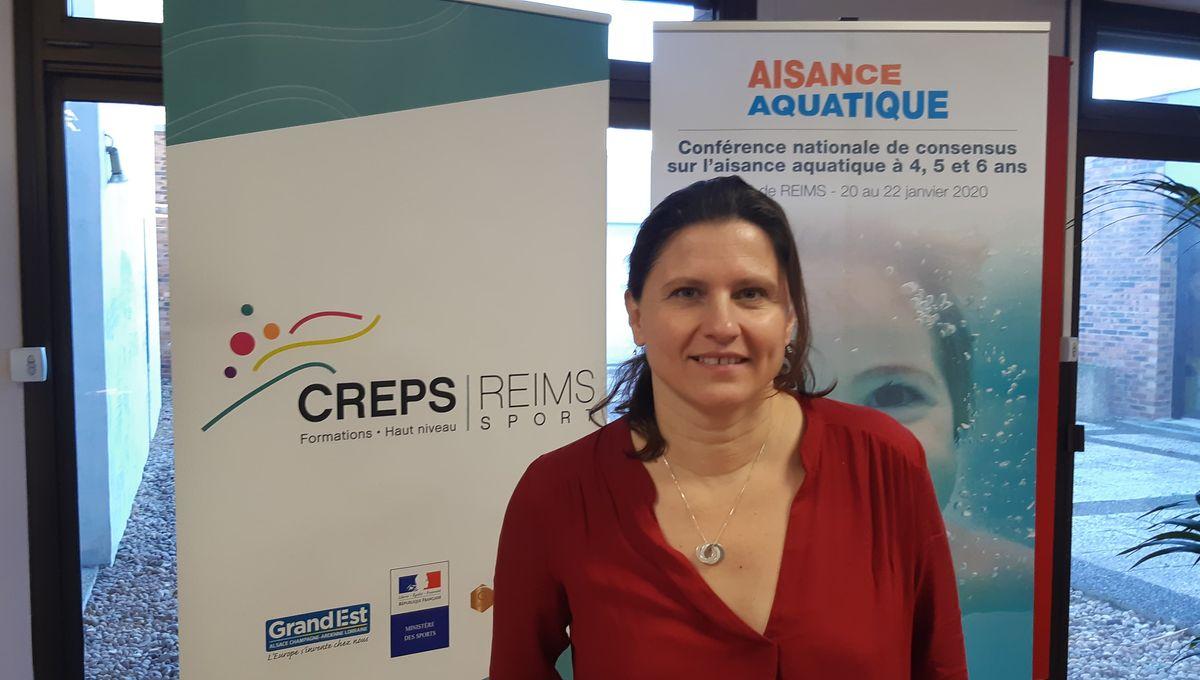 La ministre des Sports, Roxana Maracineanu, lance à Reims la conférence sur l'aisance aquatique
