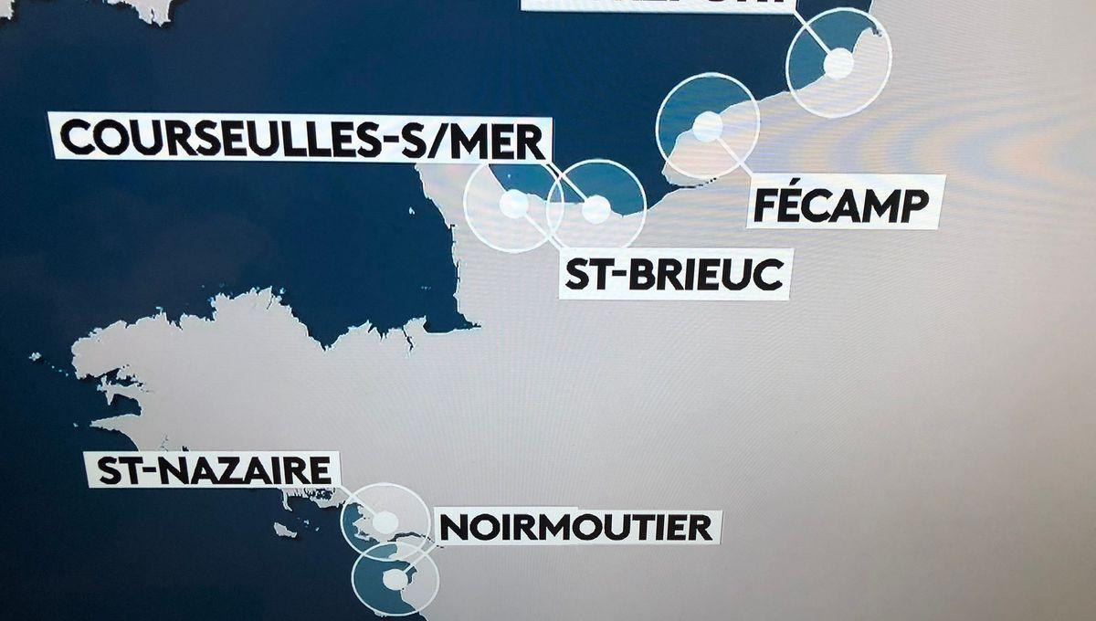 Saint-Brieuc en Normandie, les internautes bretons s'amusent de l'erreur de France 2 !